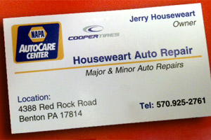 Houseweart Auto Repair