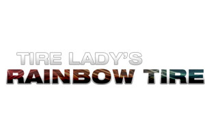 Tire Lady's Rainbow Tire