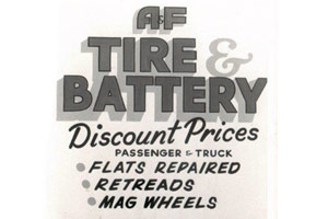 A & F Tire & Battery Inc.