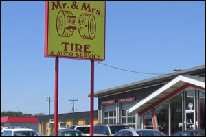 Mr. & Mrs. Tire