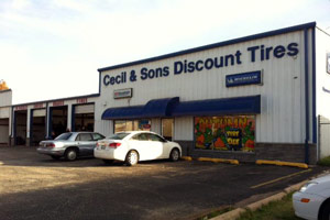 Sand Springs & Sapulpa Tire Shop Locations | Cecil & Sons