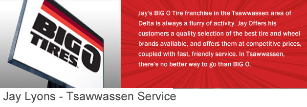 Delta/Tsawwassen Big O Tires